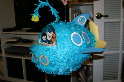 Make Paper Mache Pinata - d i y pinata made of paper mache octonauts