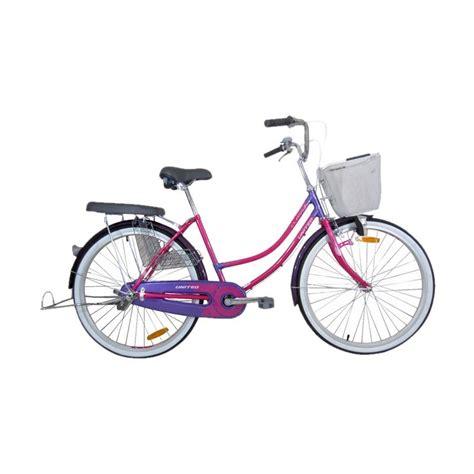 Sepeda Keranjang Wanita Baru jual united class x sepeda keranjang 26 inch