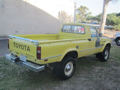 rust free pickup beds factory stock toyota long bed 4wd pickup california rust