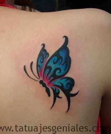 imagenes mariposas tattoos 80 originales tatuajes de mariposas y su significado