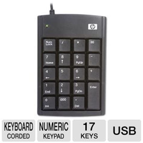 Hp Samsung Keypad hp ultra mini usb numeric keypad px972a at tigerdirect