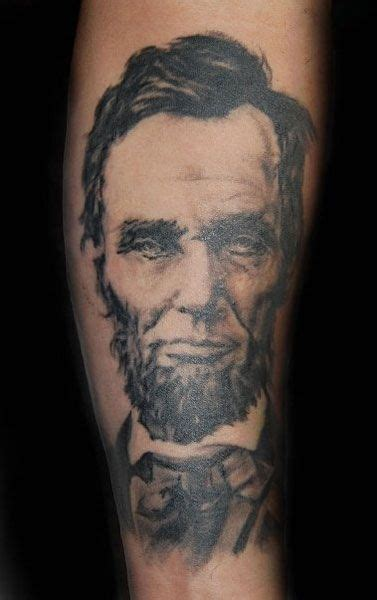 lincoln tattoo 12 best all about abe images on abraham