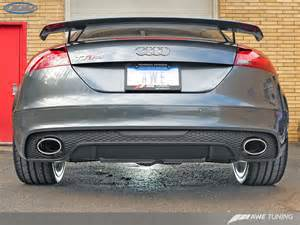 Audi Tt Exhaust System Awe Tuning Ttrs Switchpath Exhaust System