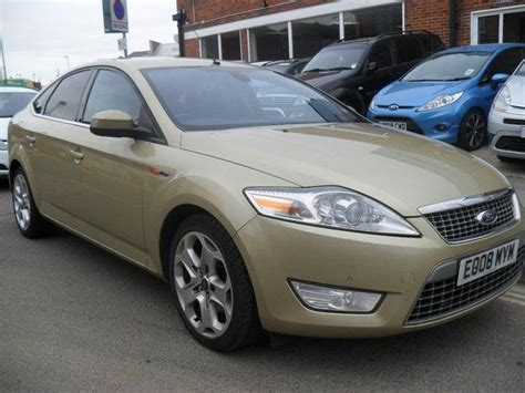 2008 ford mondeo for sale used ford mondeo car 2008 silver diesel 1 8 tdci titanium