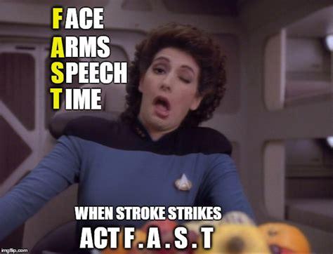 Meme Generator Star Trek - stroke act f a s t imgflip