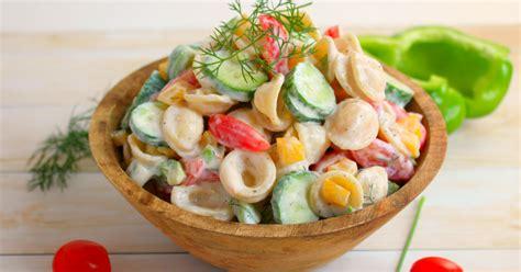 garden vegetable pasta salad garden vegetable pasta salad delightful e made