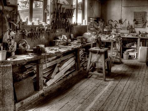 werkstatt bilder alte klempnerei foto bild industrie und technik