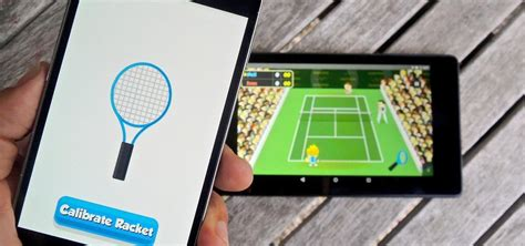 second android this turns a second android device into a tennis racket wiimote style 171 android gadget