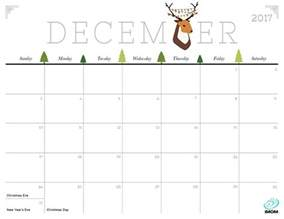 Calendar December 2017 Printable Free December 2017 Calendar Calendar Printable Free