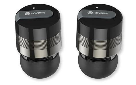 smallest wireless rowkin bit worlds smallest wireless bluetooth earbuds