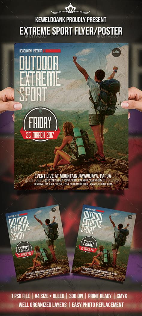 sports event flyer template sport flyer poster by keweldoank graphicriver