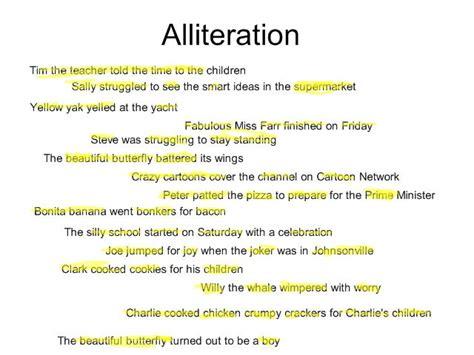 alliteration poems bing images
