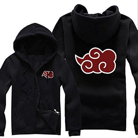 Sweater Zipper Akatsuki unisex anime akatsuki clouds zipper sweater cardigan jacket m black buy