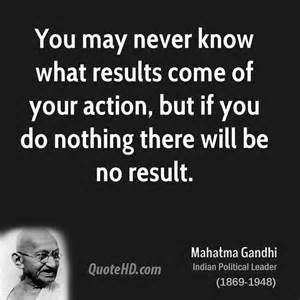 What You Do In The Will Come To Light by Mahatma Gandhi Quotes Quotehd