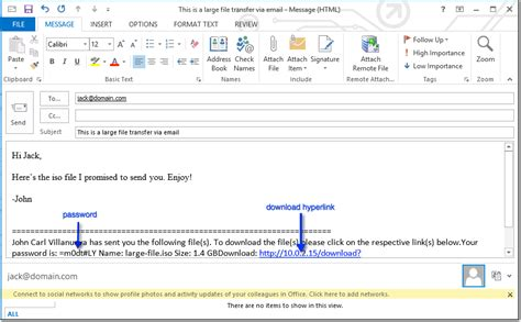 how to send large files through email part 3