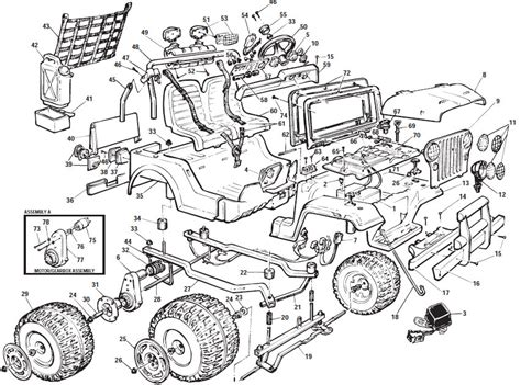 1999 jeep parts diagrams power wheels jeep wrangler parts