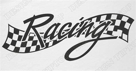 Race Track Wall Stickers racing flag svg race race flag checkered flag flag