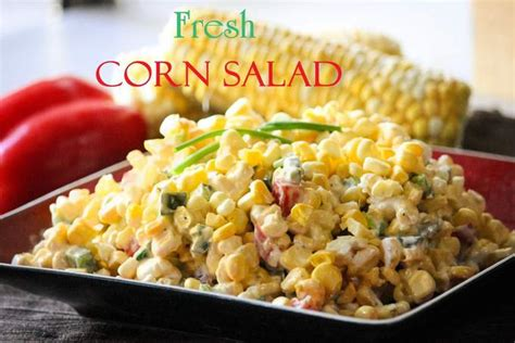 sweet corn salad recipe dishmaps