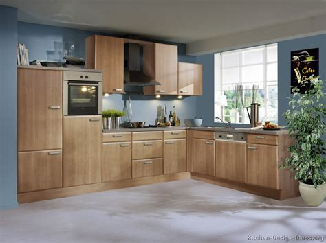 blue kitchen with oak cabinets pictures of kitchens modern medium wood kitchen cabinets