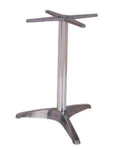 three leg table base ref 6463 aluminum three leg table base issl table bases