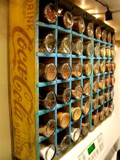 Hanging Spice Rack With Spices 17 Best Ideas About Hanging Spice Rack On