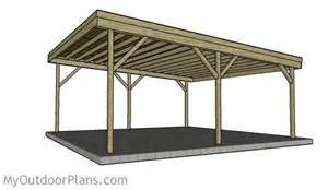 Two Car Carport Plans 2 Car Carport Plans Myoutdoorplans Free Woodworking