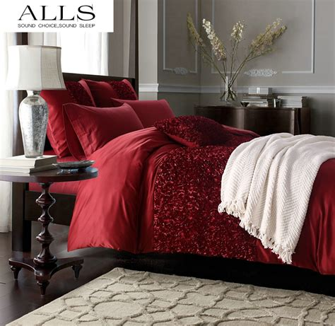 red king comforter set online get cheap red comforter sets king aliexpress com