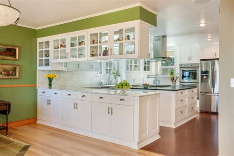 Kitchen Peninsula Cabinets Peninsula With Cabinets Kitchen Modern With Kitchen Bar White Shade