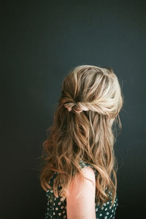 diy hairstyles for wedding dinner easy diy topsy half up hairstyle for valentine s day