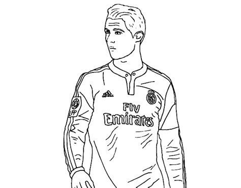 Dessin De Cristiano Ronaldo Colorie Par Membre Non Inscrit