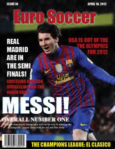 Football magazine cover template sports magazine covers bakery flyer