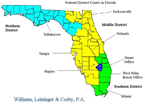 florida circuit court map united states district court for the northern district of