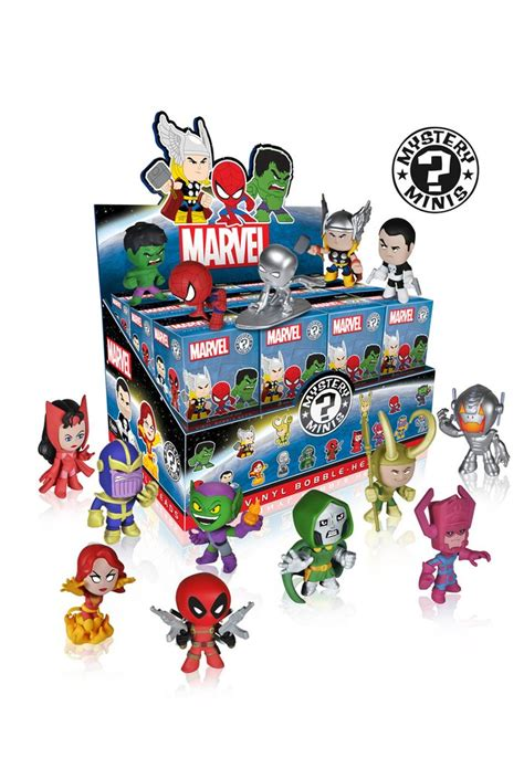 blind products mystery minis blind box marvel funko