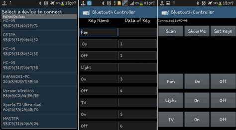bluetooth controlled home automation system using 8051