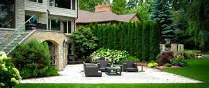 Trees For Backyard Landscaping Screening And Privacy Trees The Tree Center