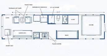 Bus Conversion Floor Plans Not A Bad Layout Add A Pantry Next To Sink School Bus