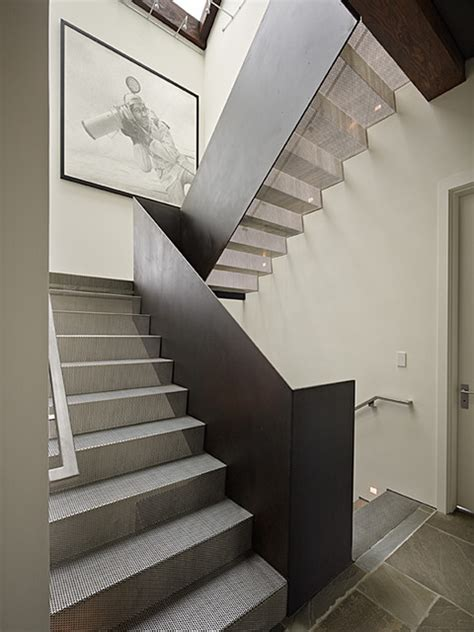 house stairs art house stair modern staircase seattle by