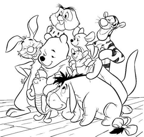 coloring pages disney winnie the pooh winnie the pooh learn to coloring