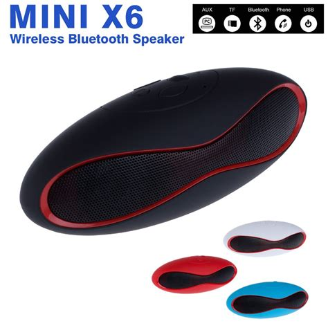 Speaker Bluetooth Mini X6 mini x6 bluetooth speaker wireless stereo portable