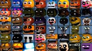 Five nights at freddy s world all 48 characters unlocked all
