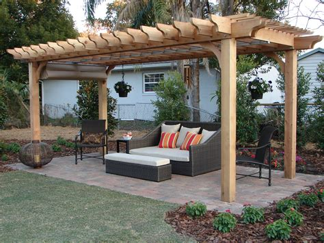Affordable Kitchen Table Sets by Big Kahuna 8x13 Pergola Depot Pergola Depot