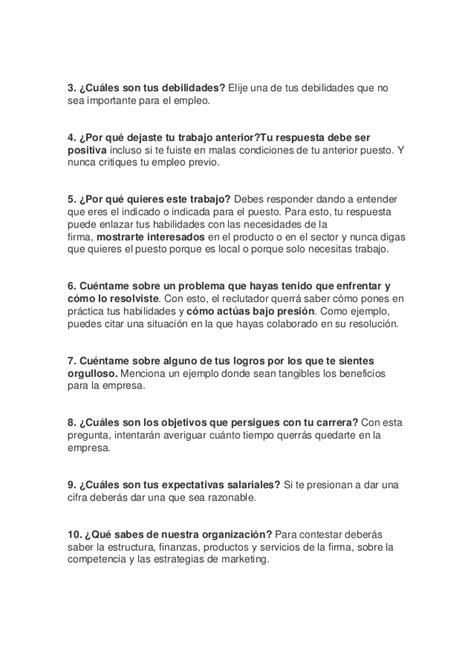 preguntas frecuentes en una entrevista de trabajo y como responderlas las 10 preguntas m 225 s frecuentes en una entrevista de trabajo