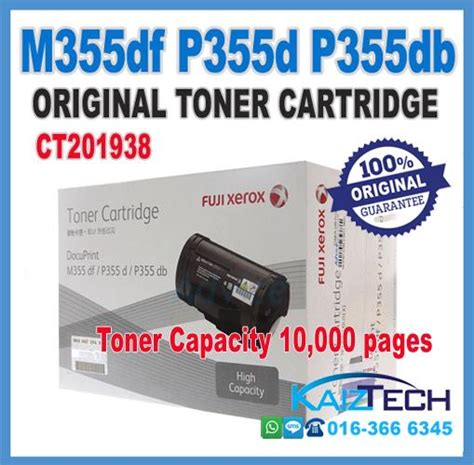 Toner Xerox P355d promo fuji xerox p355db p355d p355df end 7 5 2017 8 15 pm