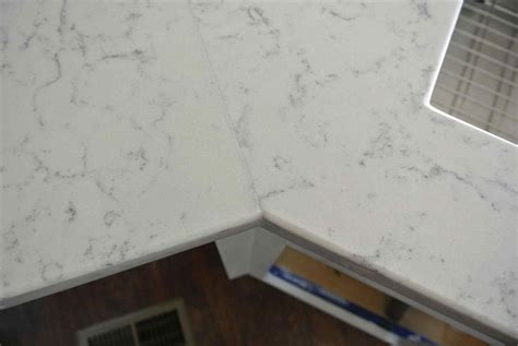 white quartz countertop seams   DeducTour.com