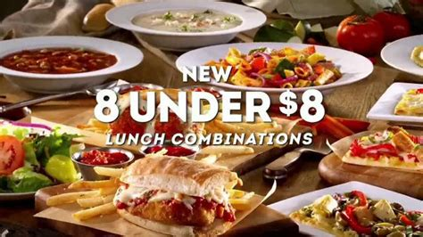 olive garden 7 dollar lunch olive garden tv commercial new 8 8 lunch combinations ispot tv