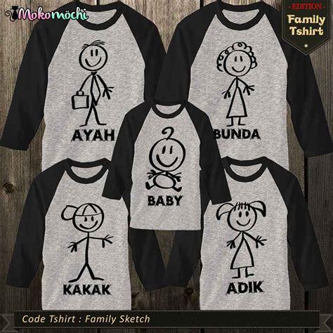 model kaos family gathering  event outing terbaru