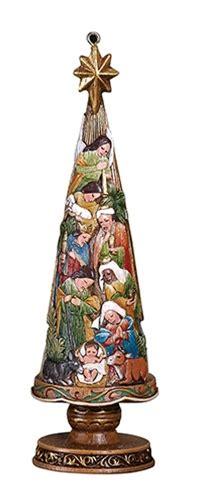 nativity christmas tree 5 quot ornament