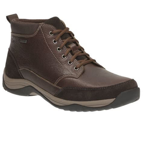 best casual boots clarks baystone top gtx mens casual boots from