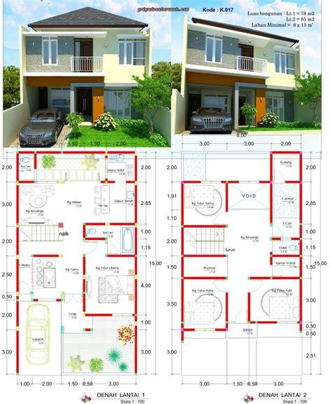desain rumah minimalis modern  lantai jasa desain rumah