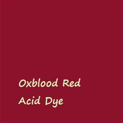 oxblood acid dye for 1lb wool silk feathers or fur